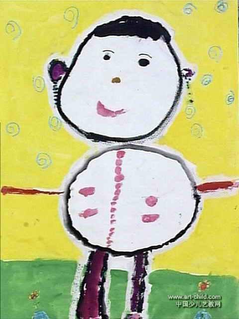 我长大了儿童画6幅