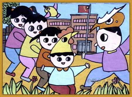 开心一刻儿童画