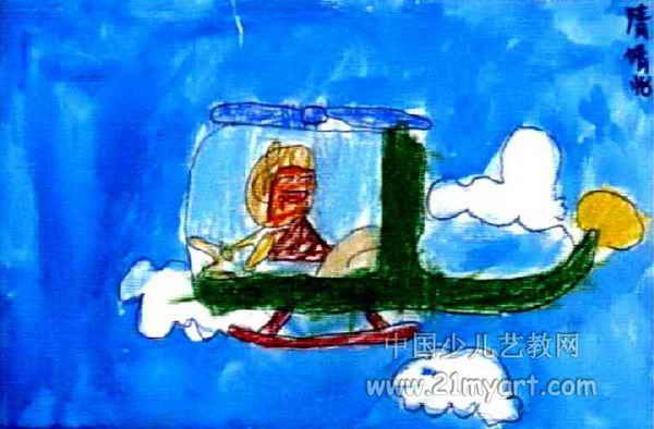 儿童画 儿童水粉画