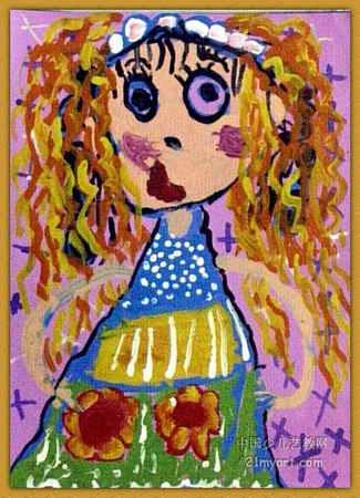 儿童简笔画发型图片大全_儿童简笔画发型图片下载