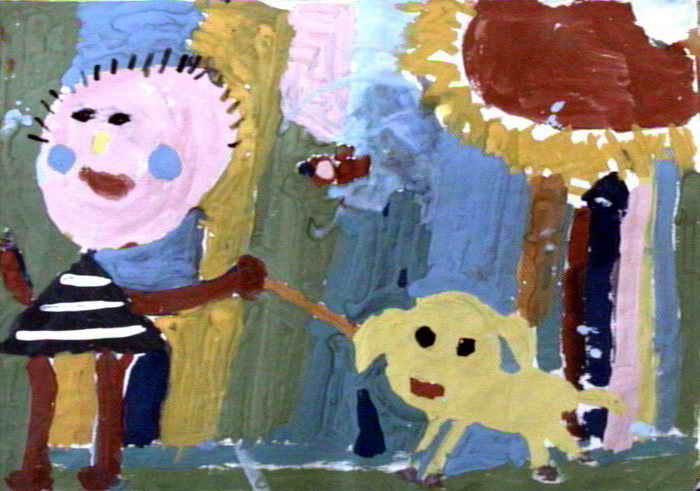 作者李昱鋆,男,5岁,来自西峡县县直幼儿园.