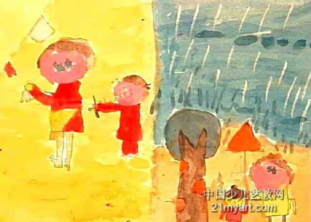 我长大了儿童画6幅 第3张