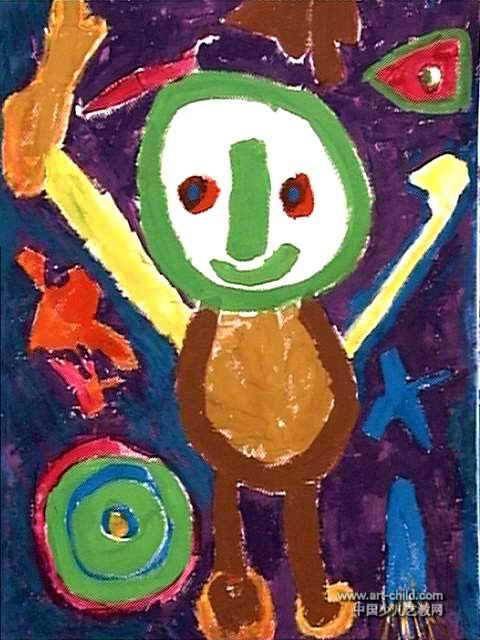 作品长640px,宽480px,作者梁艺博,男,5岁,就读南阳市育红幼儿园.图片
