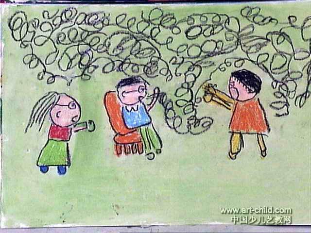 爸爸别吸烟儿童画作品欣赏