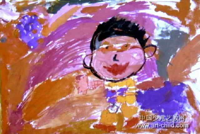 奥特之光儿童画