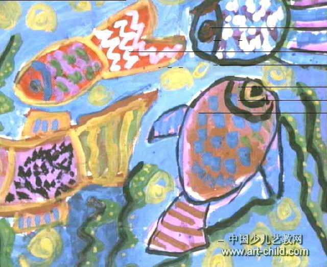 海底世界儿童画(二)8幅