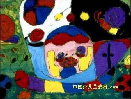 简笔画 儿童画 儿童水粉画 >> 蜗牛壳里的秘密儿童画   蜗牛壳里的