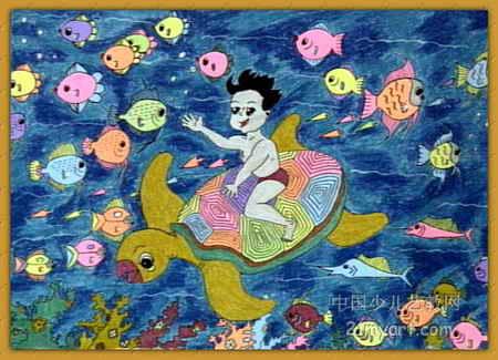 海底总动员儿童画3幅(第2张)