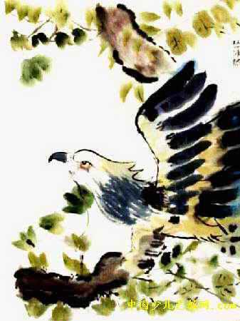 """""""鹰""""儿童画"""