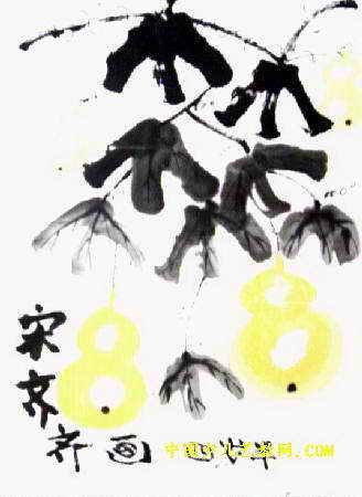 葫芦儿童画(四)3幅