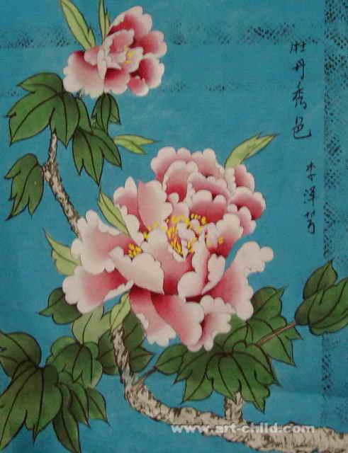 怎样画牡丹花 一笔一笔的教画牡丹花 怎样画牡丹花