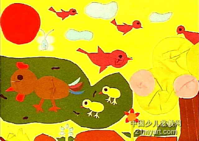 简笔画 儿童画 儿童装饰画