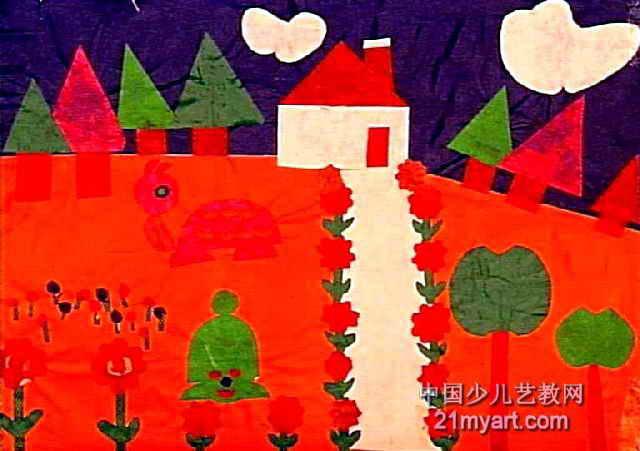 花园儿童装饰画