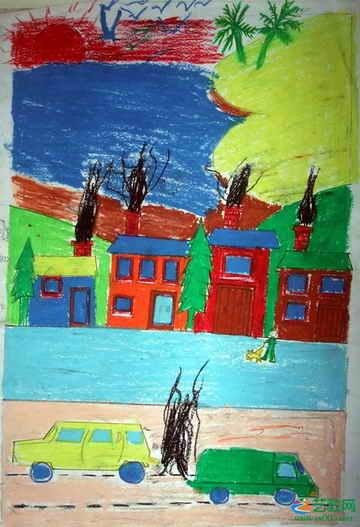 《无题》38儿童画
