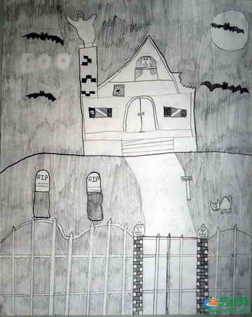 儿童 素描画/《无题》35儿童素描画...