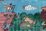 森林之歌儿童水彩画