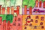 让世界多一点绿色儿童画图片