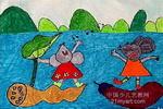 远航儿童水彩画