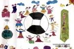 奥运之家儿童画作品欣赏