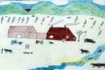 牧人的新生活儿童画