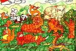 动物园儿童画6幅