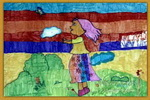 我与大自然儿童画