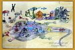 怪兽乐园儿童画