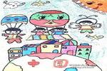 看中国儿童画图片