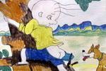 三毛流浪记儿童画