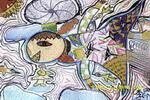 梦中的飞翔儿童画