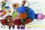 乌龟妈妈看蛋儿童画