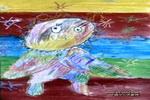 太阳的宝宝儿童画作品欣赏