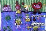 冰箱里的故事儿童画