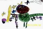 大丰收儿童画3幅