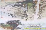 三峡风光儿童画