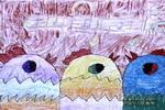 合唱比赛儿童画作品欣赏