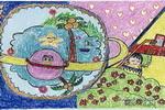 我的梦儿童画10幅