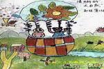 清晰的大自然儿童画