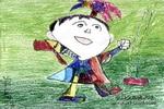 快乐童年儿童画9幅