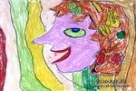 快乐妈妈儿童画作品欣赏