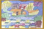 迎奥运儿童画10幅