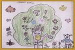 漂亮的树公公儿童画