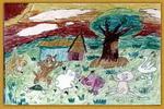 看我们的家园儿童画