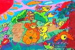 要保护地球儿童画作品欣赏图片