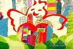 我的和平梦儿童画作品欣赏