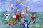 数码宝贝儿童画