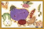 蔬菜是我们的好朋友儿童画