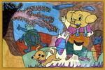 油彩儿童画