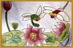 小蜻蜓儿童画2幅