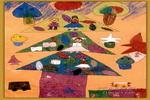 理想之村儿童画